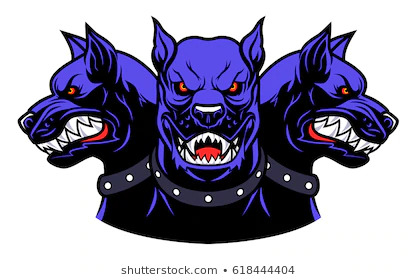 vector-illustration-angry-cerberus-heads-260nw-618444404